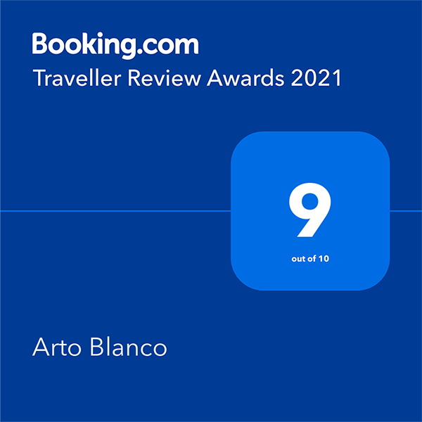 Booking.com Traveller Review Awards 2021 - 9 out of 10